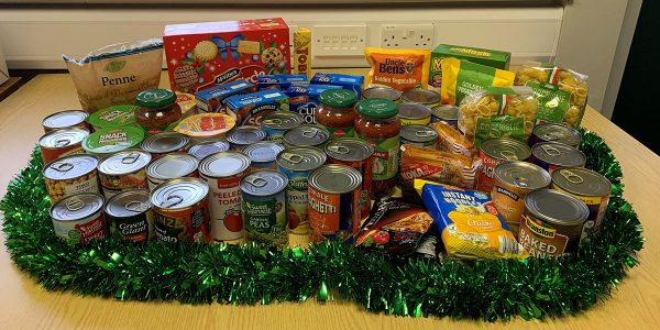 Target Medical food donations to Skelmersdale Foodbank 2019